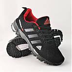 Мужские Кроссовки Adidas Fast Marathon Чёрные Адидас (размеры: 41,44) Видео Обзор, фото 2