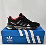 Мужские Кроссовки Adidas Fast Marathon Чёрные Адидас (размеры: 41,44) Видео Обзор, фото 3