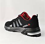 Мужские Кроссовки Adidas Fast Marathon Чёрные Адидас (размеры: 41,44) Видео Обзор, фото 5