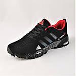 Мужские Кроссовки Adidas Fast Marathon Чёрные Адидас (размеры: 41,44) Видео Обзор, фото 7