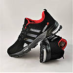 Мужские Кроссовки Adidas Fast Marathon Чёрные Адидас (размеры: 41,44) Видео Обзор, фото 8