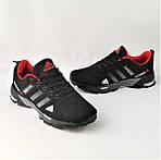 Мужские Кроссовки Adidas Fast Marathon Чёрные Адидас (размеры: 41,44) Видео Обзор, фото 9