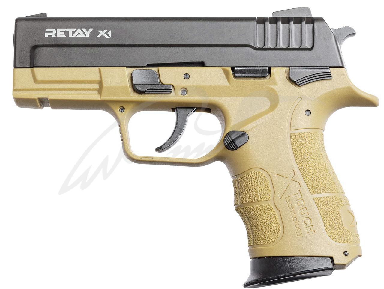 Пистолет стартовый Retay X1 9мм. sand