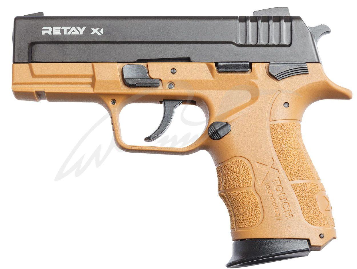 Пістолет стартовий Retay X1 9мм. tan