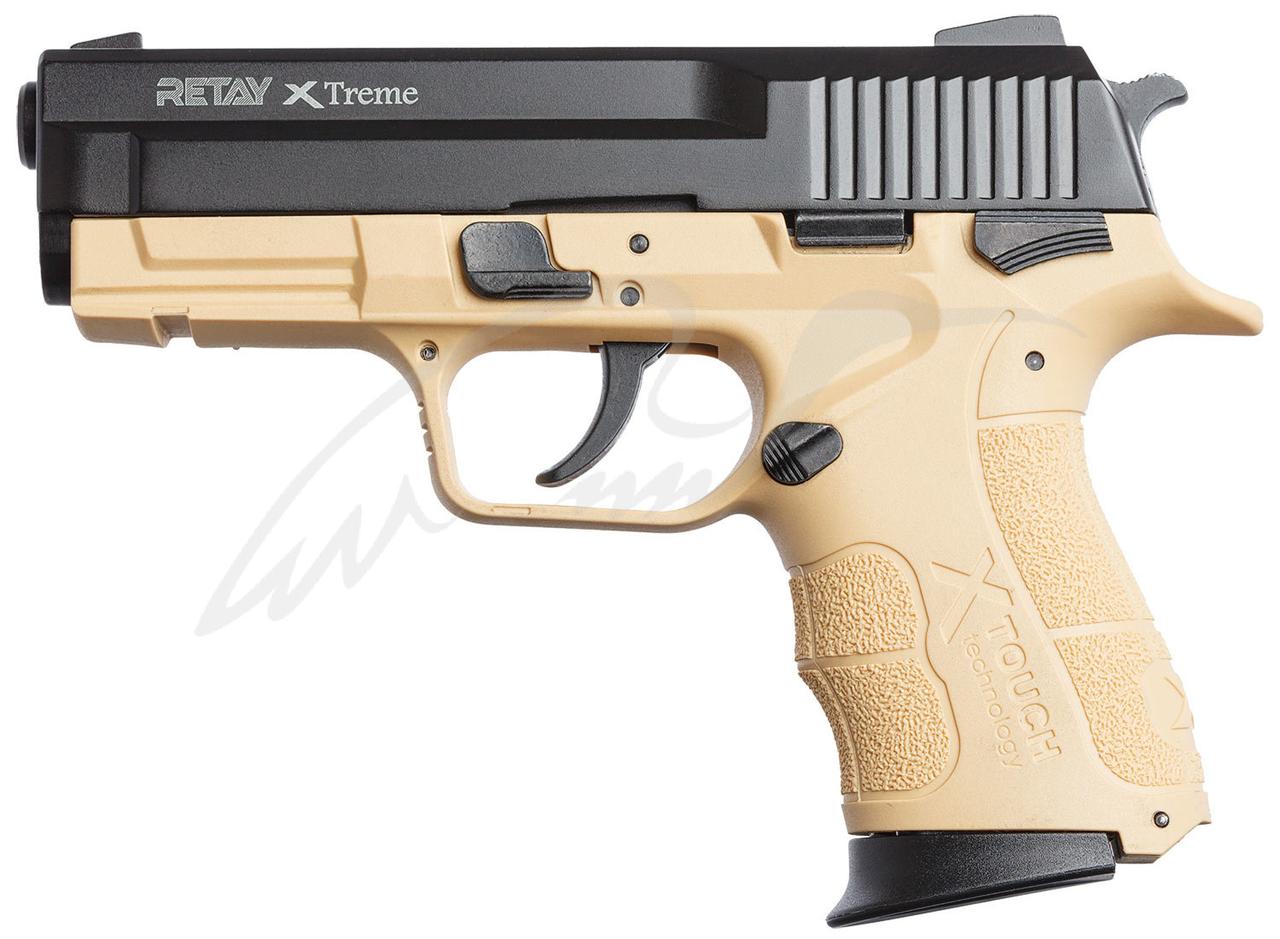 Пистолет стартовый Retay XTreme 9мм. sand