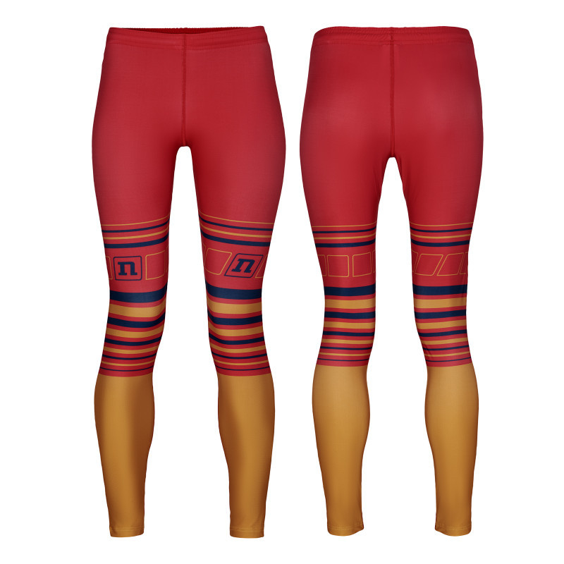 Лосины Noname WS ON THE MOVE RACE PANTS WO'S 21 BURGUNDY/GOLD