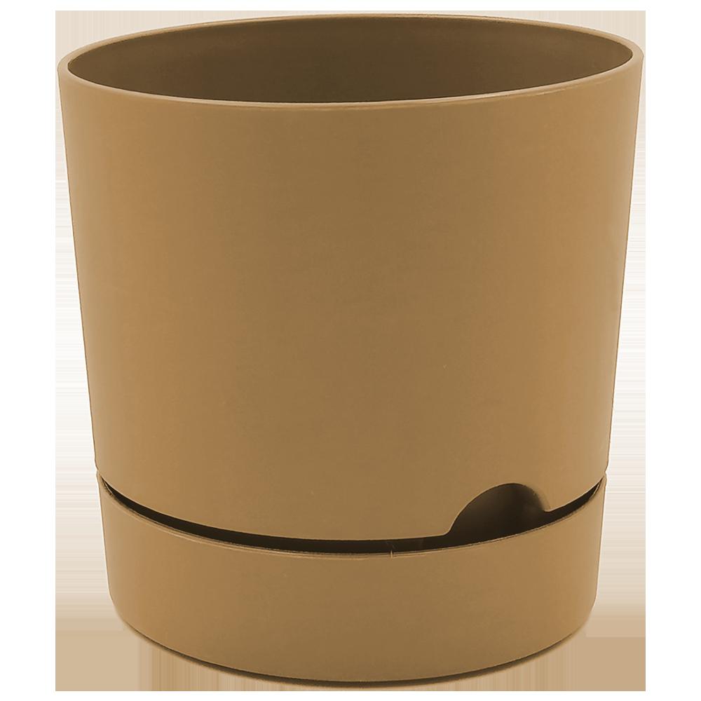 Горшок для цветов Begonya 1,8 л коричневый