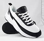 Кроссовки Adidas $harks Мужские Адидас Бело - Чёрные Акула (размеры: 41,42,,44) Видео Обзор, фото 5