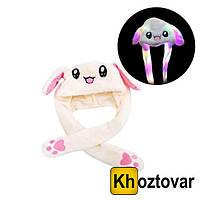 "Светящаяся шапка ""Пикачу"" Pikachu Toys Soft Toys With Led | C двигающими ушками"