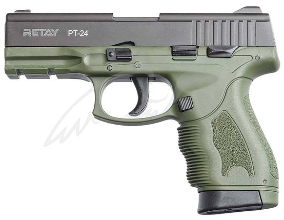 Пистолет стартовый Retay PT24 9мм. olive, фото 2