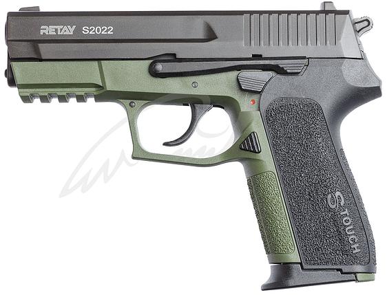 Пистолет стартовый Retay 2022 9мм. olive, фото 2