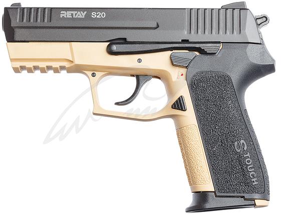 Пистолет стартовый Retay S20 9мм. sand, фото 2
