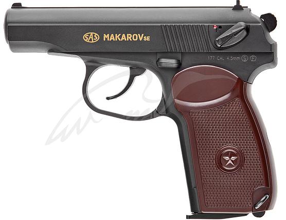 Пистолет пневматический SAS Makarov SE, 4,5 мм, фото 2