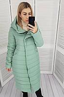 Женская куртка -кокон зима , длина миди, ШАЛФЕЙ, силикон 250,арт 180, фото 1