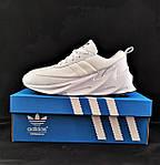 Кроссовки Adidas $harks Мужские Адидас Бело Акулы (размеры: 41,44,45) Видео Обзор, фото 7