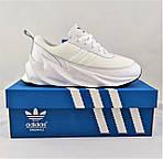 Кроссовки Adidas $harks Мужские Адидас Бело Акулы (размеры: 41,44,45) Видео Обзор, фото 10