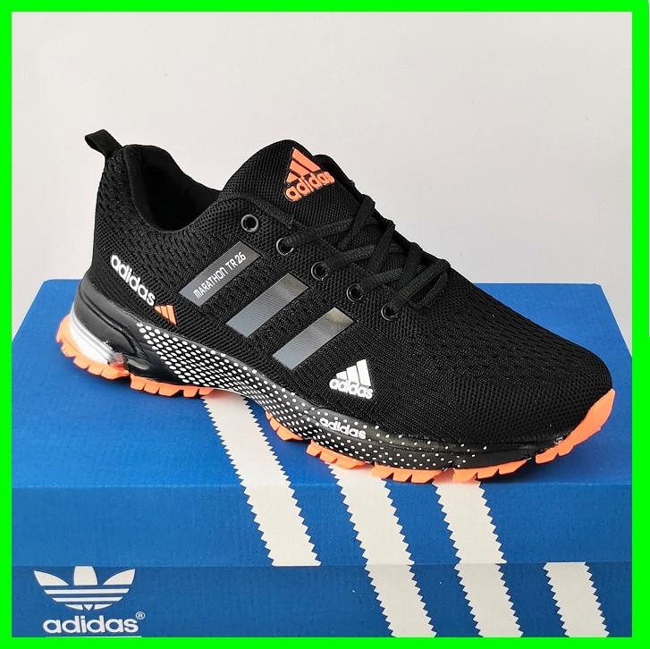 Кроссовки Adidas Fast Marathon Чёрные Мужские Адидас (размеры: 44) Видео Обзор