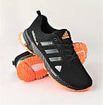 Кроссовки Adidas Fast Marathon Чёрные Мужские Адидас (размеры: 44) Видео Обзор, фото 3