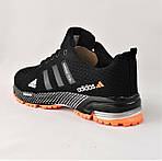 Кроссовки Adidas Fast Marathon Чёрные Мужские Адидас (размеры: 44) Видео Обзор, фото 5