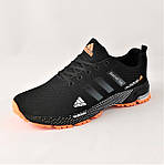 Кроссовки Adidas Fast Marathon Чёрные Мужские Адидас (размеры: 44) Видео Обзор, фото 7