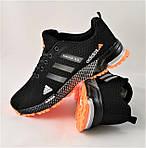 Кроссовки Adidas Fast Marathon Чёрные Мужские Адидас (размеры: 44) Видео Обзор, фото 8
