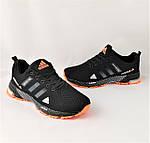Кроссовки Adidas Fast Marathon Чёрные Мужские Адидас (размеры: 44) Видео Обзор, фото 9