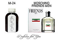 Мужские наливные духи  Friends Men Москино  125 мл
