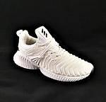 Кроссовки Adidas Alphabounce Белые Адидас Женские Волна (размеры: 36,37,38,39,40,41) Видео Обзор, фото 3