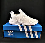 Кроссовки Adidas Alphabounce Белые Адидас Женские Волна (размеры: 36,37,38,39,40,41) Видео Обзор, фото 6