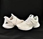 Кроссовки Adidas Alphabounce Белые Адидас Женские Волна (размеры: 36,37,38,39,40,41) Видео Обзор, фото 7
