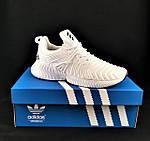 Кроссовки Adidas Alphabounce Белые Адидас Женские Волна (размеры: 36,37,38,39,40,41) Видео Обзор, фото 9