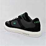 Кроссовки LACOSTE Мужские Черные Лакоста (размеры: 41,43,44) Видео Обзор, фото 5