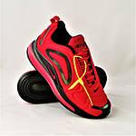 Кросівки N!ke Air Max 720 Червоні з Чорним Чоловічі Найк (розміри: 42,43,44,45) Відео Огляд, фото 2