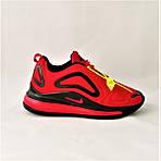 Кросівки N!ke Air Max 720 Червоні з Чорним Чоловічі Найк (розміри: 42,43,44,45) Відео Огляд, фото 3