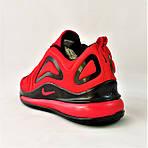 Кроссовки N!ke Air Max 720 Красные с Чёрным Мужские Найк (размеры: 42,43,44,45) Видео Обзор, фото 5
