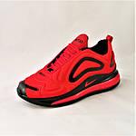 Кросівки N!ke Air Max 720 Червоні з Чорним Чоловічі Найк (розміри: 42,43,44,45) Відео Огляд, фото 6