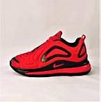Кроссовки N!ke Air Max 720 Красные с Чёрным Мужские Найк (размеры: 42,43,44,45) Видео Обзор, фото 7