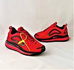 Кросівки N!ke Air Max 720 Червоні з Чорним Чоловічі Найк (розміри: 42,43,44,45) Відео Огляд, фото 9