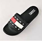 Шлёпанцы Тапочки TOMMY Jeans Сланцы Чёрные Мужские (размеры: 44), фото 3