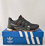 Кроссовки Adidas Fast Marathon Серые Мужские Адидас (размеры: 44) Видео Обзор, фото 2