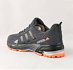 Кроссовки Adidas Fast Marathon Серые Мужские Адидас (размеры: 44) Видео Обзор, фото 5
