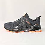 Кроссовки Adidas Fast Marathon Серые Мужские Адидас (размеры: 44) Видео Обзор, фото 6