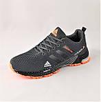 Кроссовки Adidas Fast Marathon Серые Мужские Адидас (размеры: 44) Видео Обзор, фото 8
