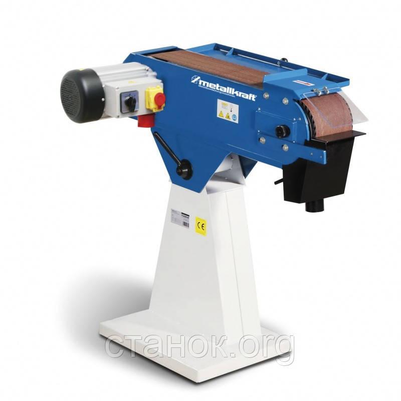 Metallkraft MBSM 150-200-2 ленточно-шлифовальный станок по металлу верстат