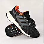 Кроссовки Adidas Energy Boost Чёрные Мужские Адидас (размеры: 41,42,43,44,45) Видео Обзор, фото 2
