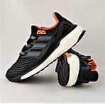 Кроссовки Adidas Energy Boost Чёрные Мужские Адидас (размеры: 41,42,43,44,45) Видео Обзор, фото 7