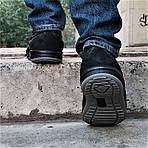 Мужские Мокасины Чёрные Замшевые Туфли (размеры: 41,42,44,45), фото 4