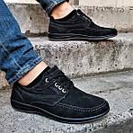 Мужские Мокасины Чёрные Замшевые Туфли (размеры: 41,42,44,45), фото 8