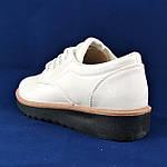 Женские Туфли Белые Лаковые Кроссовки Слипоны Мокасины (размеры: 37,38,39,40,41), фото 5