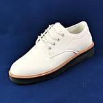 Женские Туфли Белые Лаковые Кроссовки Слипоны Мокасины (размеры: 37,38,39,40,41), фото 6